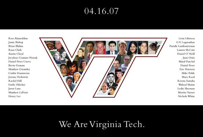How do i format cause and effect essay for the Virginia Tech Massacre?