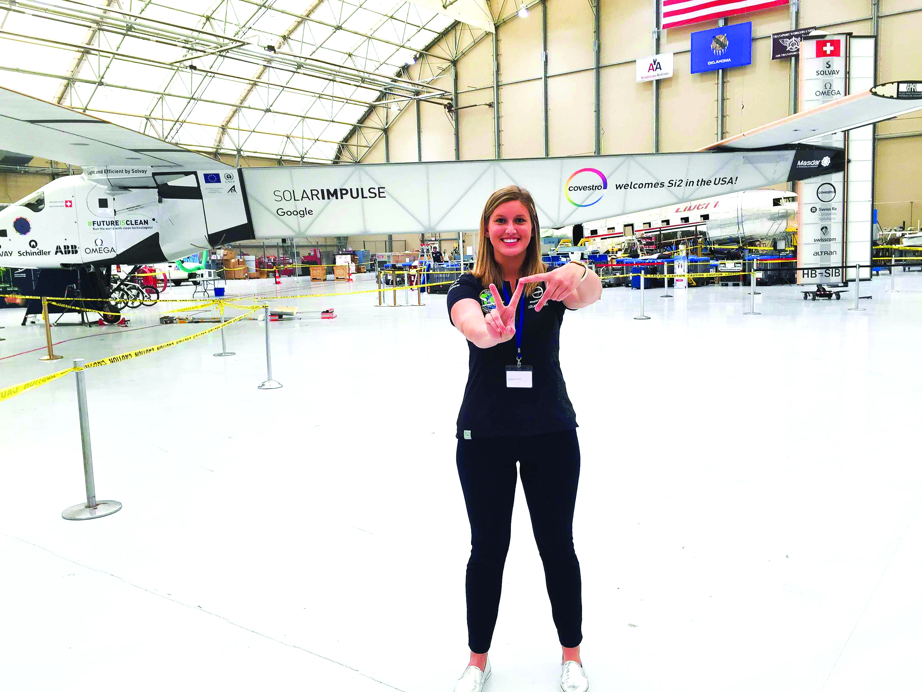 Paige Kassalen and SolarImpulse