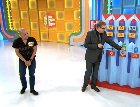 "Sandy Bass on ""The Price Is Right"""
